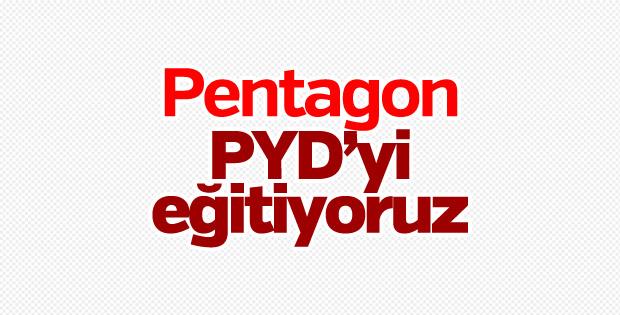 Pentagon, PYD'yi eğittiğini açıkladı