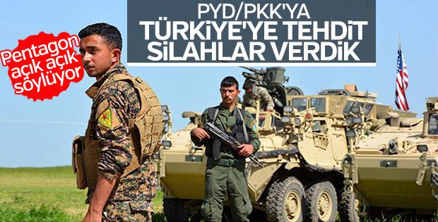 Pentagon: PKK'ya verdiğimiz silahları toplayacağız