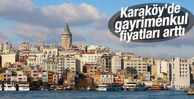 Karaköy'de emlak fiyatları yüzde 50 arttı