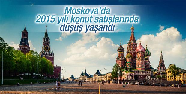 Moskova'da 2015 yılı konut satışlarında düşüş yaşandı