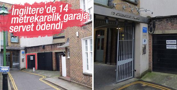 14 metrekarelik garaj 1,5 milyon liraya satıldı