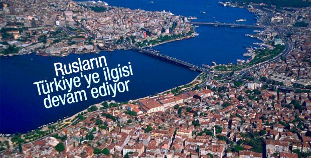 Ruslar Türkiye'deki gayrimenkul yatırımlarına devam ediyor