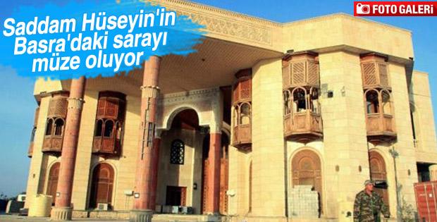 Saddam Hüseyin'in sarayı müze oluyor