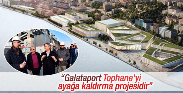 Demircan: Galataport kente denizden giriş kapısı olacak