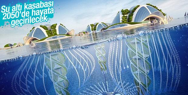 Brezilya'da su altı gökdelenleri inşa edilecek