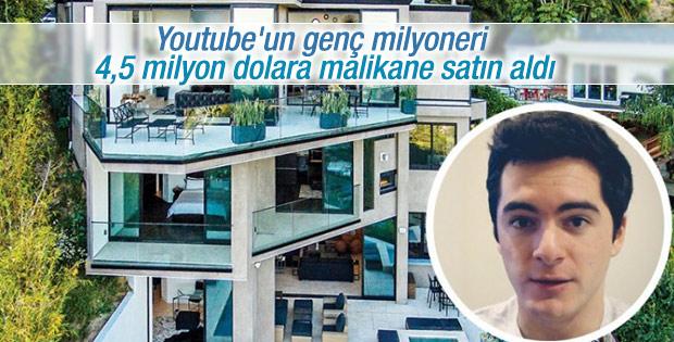 Youtube'un genç milyoneri lüks bir malikane satın aldı