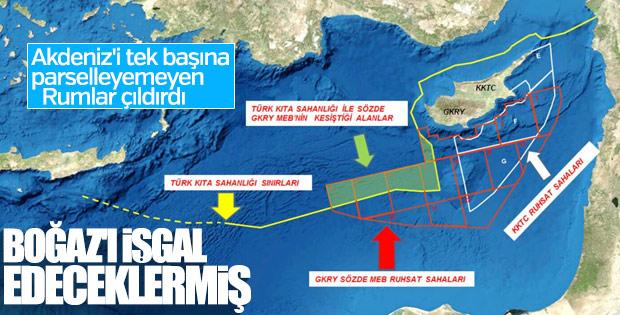 Güney Kıbrıs'tan Türkiye'ye akılsız tehdit