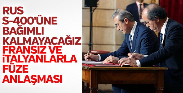 Türk, Fransız ve İtalyan savunma sistemi anlaşması tamam
