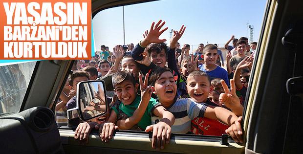 Kerküklülerin Irak Ordusu sevinci