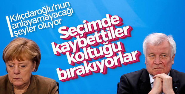 Seehofer CSU liderliğini bırakıyor