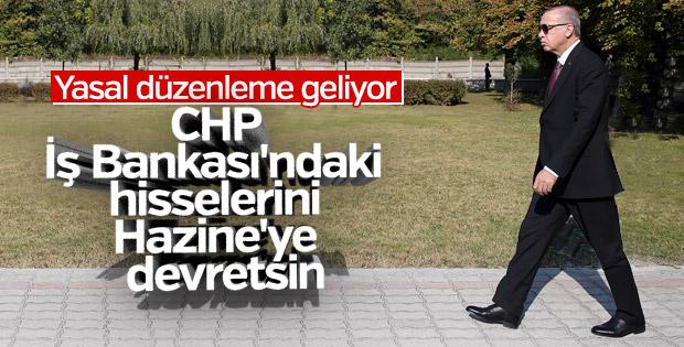 Başkan Erdoğan İş Bankası hakkında konuştu