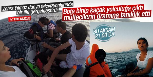 Kaos Hattı mülteci botuna binip Yunanistan'a gitti