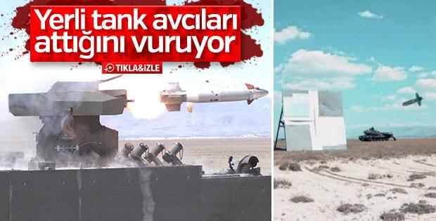 Türkiye'nin tank avcıları testlerden başarıyla geçti