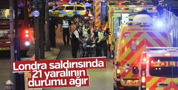 Londra saldırısında yaralıların durumu ciddi
