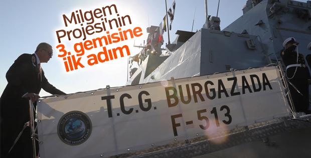 Milli Gemi Burgazada göreve başlıyor