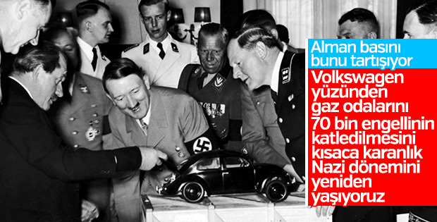 Alman basınının Volkswagen skandalına yorumu