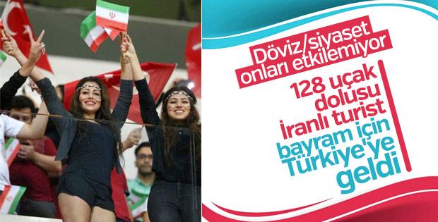 İranlı turistler bayramda Türkiye'ye akın etti