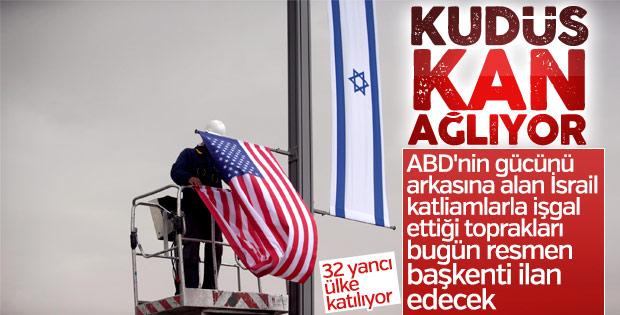 Dünya Kudüs hamlesi nedeniyle ABD'yi boykot ediyor