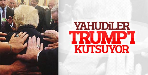 Yahudilerden Trump'a kutsama