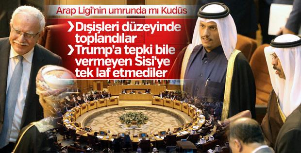 Arap Birliği Kudüs çağrısıyla toplandı