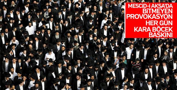 Aksa'da Yahudi provokasyonu