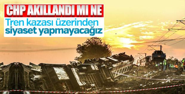 CHP'den kaza açıklaması: Siyasi tartışma yapmayacağız