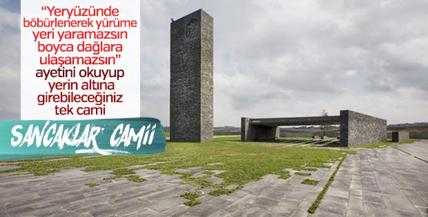 Huzur ve tevazunun merkezi: Sancaklar Camii