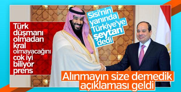 Suudiler Türkiye'ye yönelik küstah sözleri yalanladı