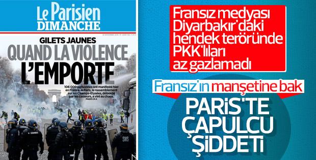 Fransız medyası eylemcilere çapulcu diyor