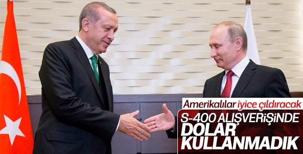 Putin'den S-400 açıklaması: Türkiye'ye dolarla satmadık