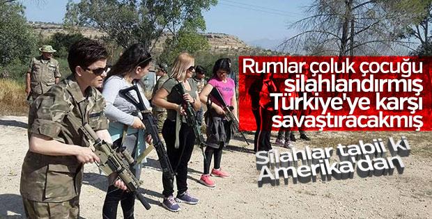 Rum kesimi Türkiye korkusundan silahlandı