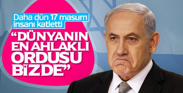 Netanyahu'dan pişkinlik içeren açıklama