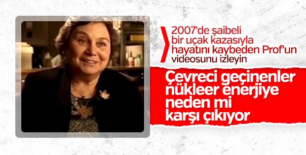 Isparta uçak kazasında ölen Prof'un nükleer açıklaması