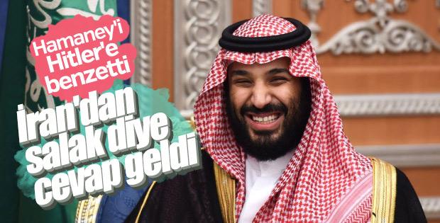 S.Arabistan'ın Hitler benzetmesine İran'dan sert cevap
