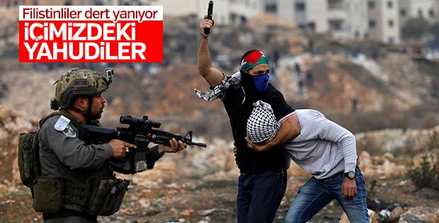 Ramallah'ta dikkat çeken kare