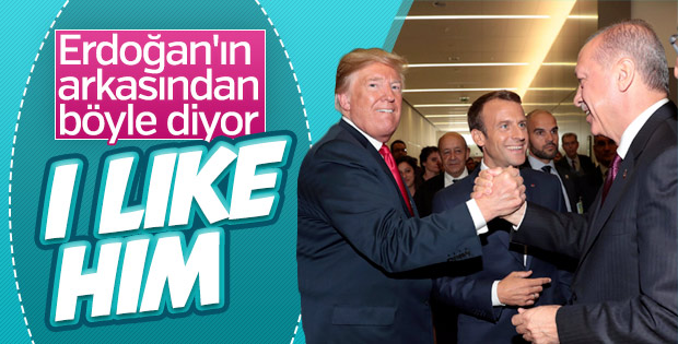 Trump'tan Erdoğan'a: Onu severim
