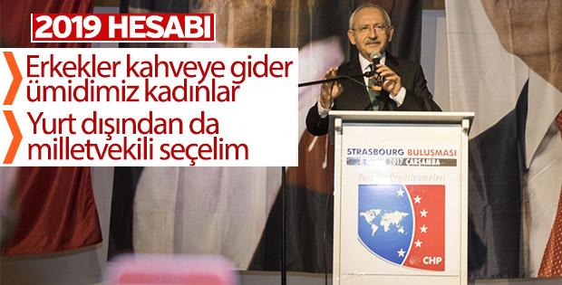 Kemal Kılıçdaroğlu Fransa'da kadınlardan yardım istedi