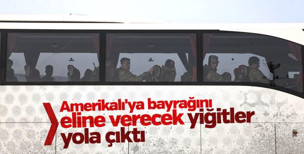 Askeri birlikler Suriye sınırına ulaştı