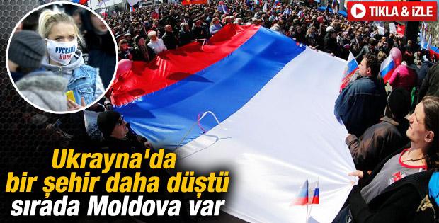 Donetsk'te Rus yanlıları bağımsızlıklarını ilan etti