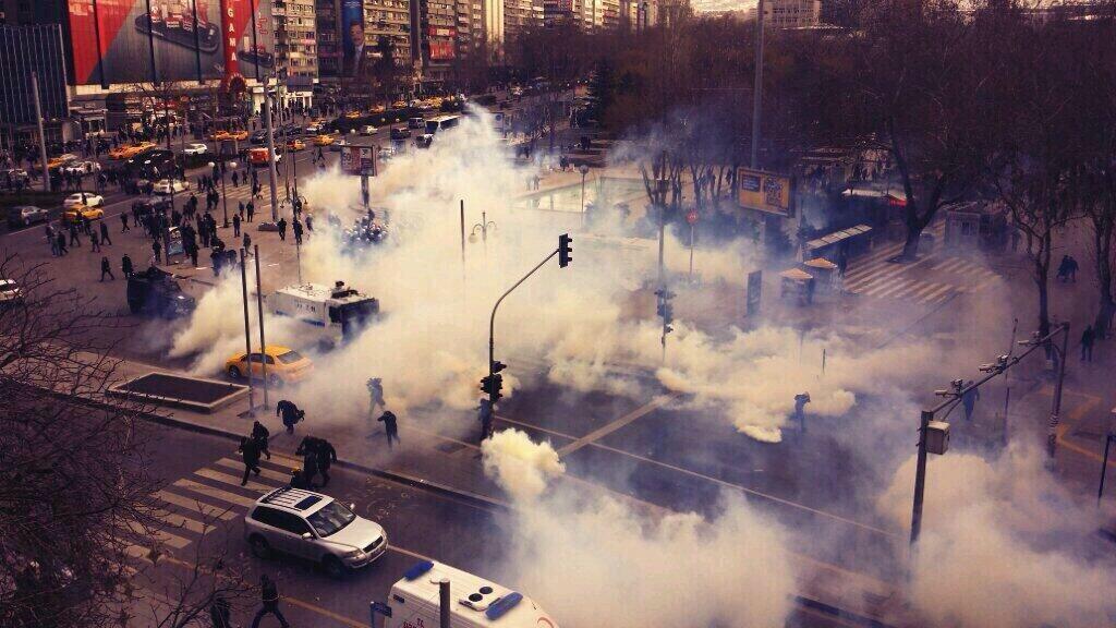 Ankara'da Berkin Elvan eylemi devam ediyor İZLE
