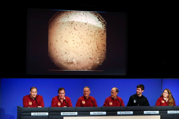NASA'nın Mars'a inme gururu