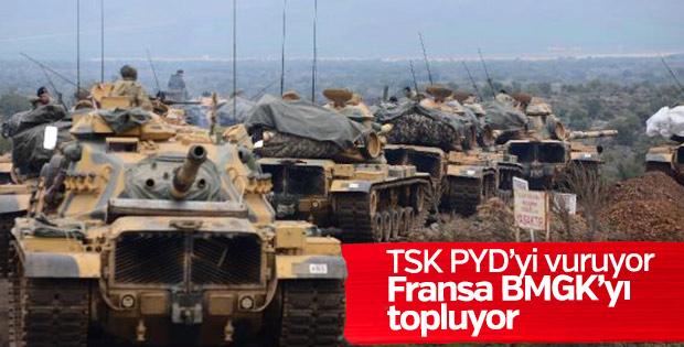 Fransa BMGK'yi Suriye için toplayacak
