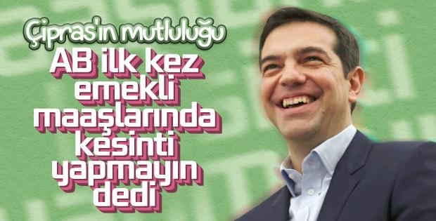 Yunanistan'da emekli maaşlarında kesinti uygulanmayacak