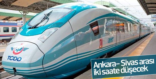 Ankara- Sivas arası iki saate düşecek
