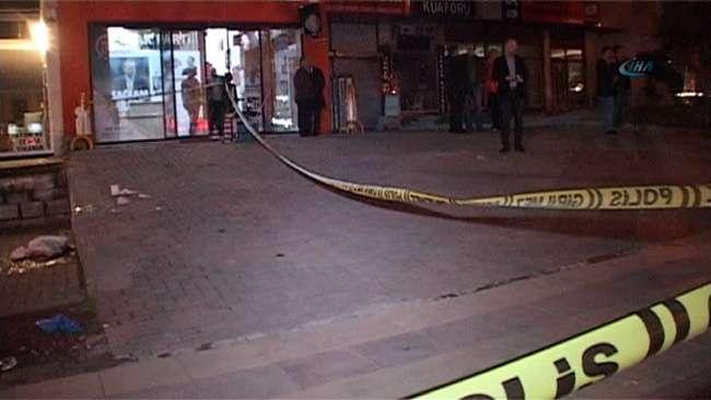 Ak Parti Seçim Merkezi önünde cinayet