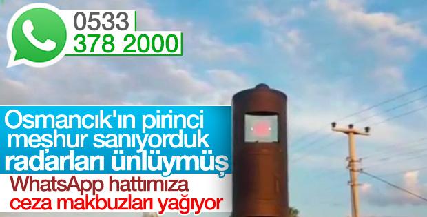 Osmancık'tan geçenleri bezdiren radar cezaları ne zaman bitecek