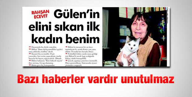 Rahşan Ecevit'in Fethullah Gülen anısı