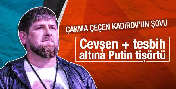 Kadirov'un Putin şovu