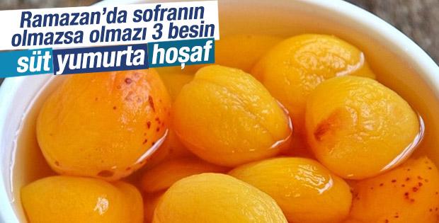 Ramazan'da mutlaka tüketilmesi gereken 3 besin