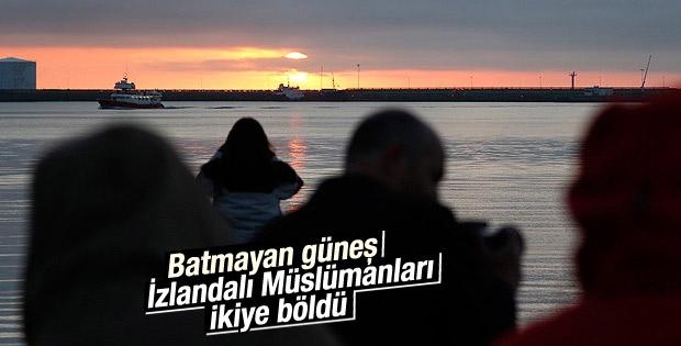İzlandalı Müslümanlar iki imsakiye arasında kaldı